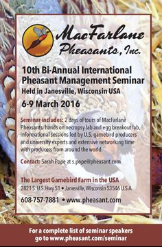 Don't Miss the Biggest Pheasant Event of the Year!