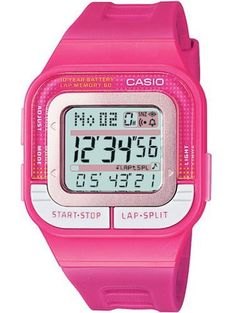 975b775ed6a Casio Women s SDB100-4A Pink Resin Quartz Watch with Digital Dial Casio.   23.77. 50 Meters   165 Feet   5 ATM Water Resistant. Mineral Crystal.