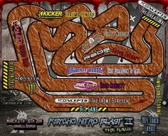 Rc track layout
