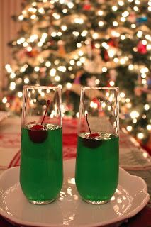 Lime Jello for watching the Grinch for movie night