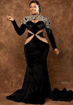 African Prom Dresses, African Wedding Dress, African Dresses For Women, African Fashion Dresses, Aso Ebi Lace Styles, Lace Gown Styles, Long Mermaid Dress, African Print Fashion, Custom Dresses