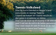 Twents volkslied; er ligt tussen Regge en Dinkel een land... Netherlands, Periodic Table, My Love, Dan, Pictures, Sweet, Quotes, Carnival, The Nederlands