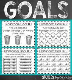 Goals help set a purpose and a direction for where you are headed. While you are building your classroom community, why not take the. 3rd Grade Classroom, Primary Classroom, Future Classroom, School Classroom, Classroom Ideas, Classroom Tools, Paragraph Writing, Persuasive Writing, Writing Rubrics