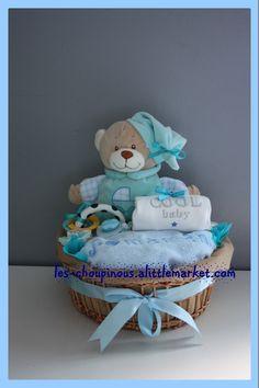 Cadeau original bébé garçon naissance baptême : Jeux, peluches, doudous par les-choupinous