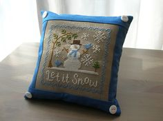 Fallen in love with LHN and CCN patterns: Let it Snow
