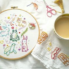 Eeeeep! @bobbypinbandit stitched up my free pattern. What a cute pic. Free pattern available at http://peng.fish/FreePatternHere