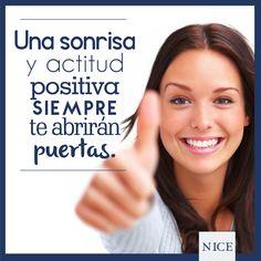 La actitud es una pequeña cosa que hace gran diferencia. #emprende #NICE