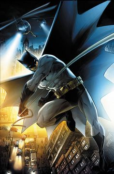 20+ Incredible Illustrations of The Dark Knight/Batman