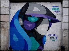 Street art by Alber