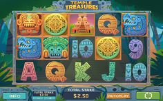 Temple Treasure slot on Behance