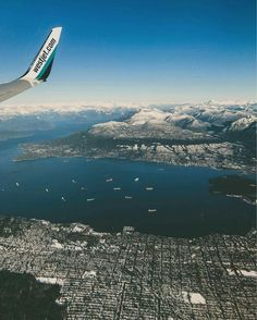 Flying into Vancouver  January 12, 2017