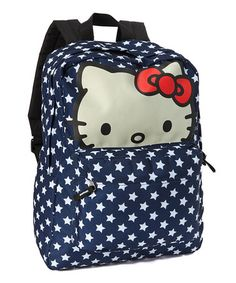 Take a look at this Hello Kitty Star Dot Backpack by Loungefly on #zulily today!