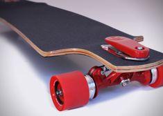interstings concept: BRAKEBOARD TRUCKS: DISC BRAKES FOR LONGBOARD SKATEBOARDS design
