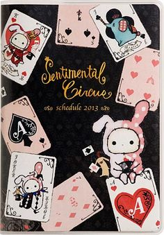 Sentimental Circus Cards