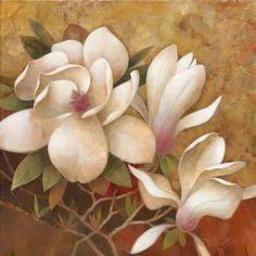 Sweet Magnolia I by Elaine Vollherbst-Lane - Art Print Framed & Unframed at www.framedartbytilliams.com