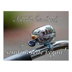 Ich fahre kein Rad, sondern reite vegan! Postcard   vintage biker, biker trash, 80s biker chick #bikerslife #bikerlove #bikerbrotherhood, 4th of july party Harley Davidson, Line Illustration, Illustrations, Biker Shirts, Biker Quotes, Vegan, Smudging, Are You Happy, Einstein