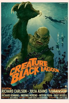 Creature from the Black Lagoon - Mondo - by Stan & Vince