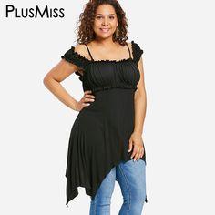 9581c38fbb2f9 PlusMiss Plus Size Vintage Retro Sexy Off Shoulder Tunic Tops Women XXXL  XXL Big Size Black Boho Long Blouse Ladies 5XL XXXXL