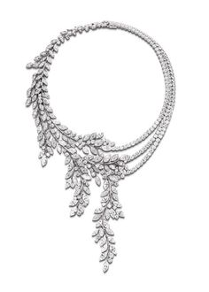 New for Piaget offers up all the whimsy, and beauty of the natural world in jeweled form with their latest collection of haute joaillerie, Limelight Jewelry Party, Bridal Jewelry, Piaget Jewelry, Titanic Jewelry, Necklace Box, Pendant Necklace, Bling Wedding, Fantasy Jewelry, High Jewelry
