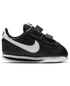 7b836769325 Nike Toddler Boys  Cortez Basic Sl Casual Sneakers from Finish Line - Black  5 Toddler