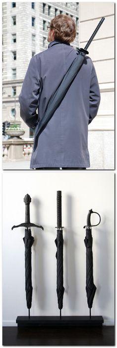 Samurai umbrella by Materious. I wonder what tsa will say.