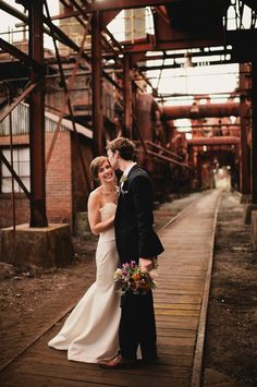 Sloss Furnace Wedding. Birmingham, AL