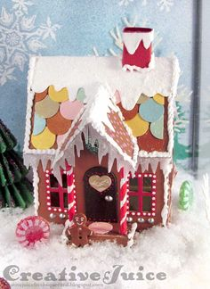 Lisa Hoel – Tim Holtz Village Dwelling Gingerbread House