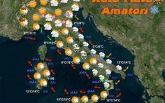 Previsioni Meteo Italia 6 Gennaio 2016 Bollettino Meteo Italia... Piogge e temporali faranno da padrone l'Italia nel giorno della Befana al centro-sud, mentre tornano le nebbie nelle pianure del centro-nord con possibili gelate.  Tempora #previsioni #italia #meteo #neve #freddo