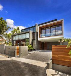 Diseño de Interiores & Arquitectura: Carretera 6 Mimosa por Parque + Associates