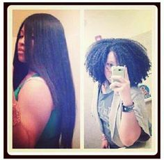 Natural Hair shrinkage: just because it looks short, doesn't mean it is short. Black Power, Curly Hair Styles, Natural Hair Styles, Hair Shrinkage, Teresa, Be Natural, Natural Beauty, Natural Girls, Natural Life