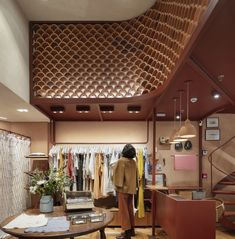 Loja Le Soleil d´été / messina Retail Boutique, Clay Tiles, Messina, Stores, Ground Floor, Architecture, Gallery, Paulistano, Showroom