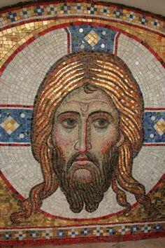 Religious Icons, Religious Art, Roman Church, Mosaic Portrait, Iron Work, Orthodox Icons, Sacred Art, Christian Art, Mosaic Art
