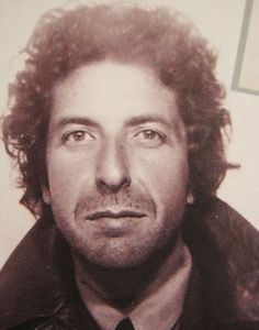 Leonard Cohen - My characters are seeming to each get a musician that represents their inner soul - And Elias's is Leonard Cohen, through and through. He my seem slight and shallow, but his romanticism runs deep and true - just like Leonard's music and words. l