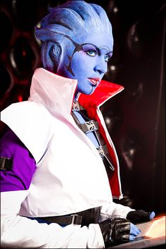 Okay, generally I see cosplay as a less respectable form of reenactment, but...HOLY BALLS THIS CHICK DID MASS EFFECT COSPLAY LIKE A FREEKIN' BOSS.