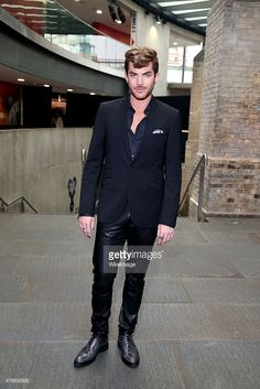 Adam Lambert attends One For The Boys Fashion Ball hosted by Samuel L. Jackson, uniting men against cancer to kick start London Collections Men at The Roundhouse on June 12, 2015 in London, England.
