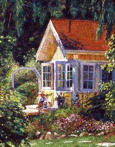 Artist's Summer Cottage | David Lloyd Glover
