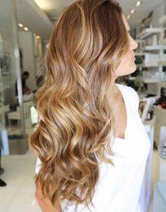 karamel balyajlı saç modelleri 2016 17