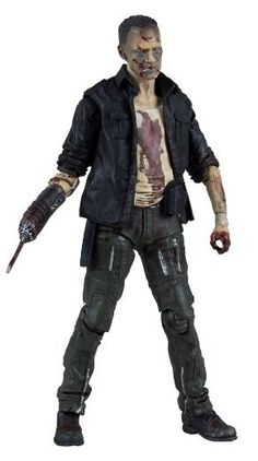 Merle Zombie Figure from The Walking Dead, McFarlane Toys 14535 Merle Zombie Figure from The Walking Dead. It is made by McFarlane Toys and is approximately 12 cm (4.7 in) high After being left for dead in Season 1, Merle Dixon, brother of Daryl, made his return as The Governor's left-hand man (he lost his right) in Season 3! After reuniting with his baby bother, Merle began searching for redemption, but instead met his demise.