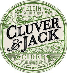 Cluver & Jack - Cider on Behance