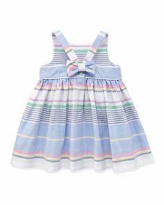 Little Cotton Oxford Dress