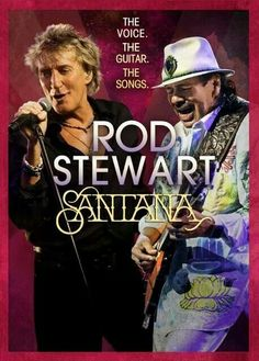 Rod Stewart and Carlos Santana will be performing at the Times Union Center May 23rd!