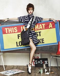 Chanel Spring 2015   History Is Her Story: Vogue Korea March 2015