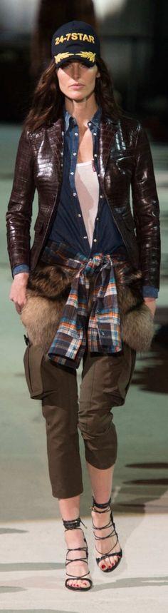 Dsquared² Fall 2015 Menswear