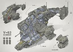Feng Zhu Design: RPG Game Cutaway, FZD Term 2 student work