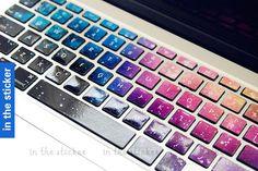 Universe Macbook keyboard cover Macbook Keyboard by inthesticker, $13.99
