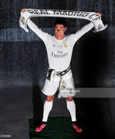 Cristiano Ronaldo celebrates the UEFA Champions League after winning the final match against Club Atletico de Madrid on May 29, 2016 in Madrid, Spain.