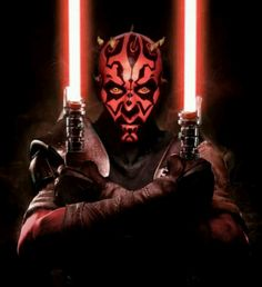 Darth Maul (from Star Wars Episode I: The Phantom Menace, Portrayed by Ray Park. Voiced by Peter Serafinowicz Star Wars Rebels, Star Wars Saga, Star Wars Darth, Star Trek, Darth Maul, Jedi Sith, Sith Lord, Star Wars Pictures, Star Wars Images