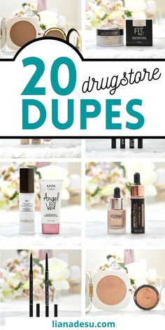 Stop wasting your money on high-end/luxury makeup with these amazing DRUGSTORE MAKEUP DUPES! Save money with high-end quality makeup products for drugstore prices - you can't go wrong. I tested all of these drugstore dupes out to recommend them to you with confidence! #drugstore #makeup #dupes Makeup For Older Women, Makeup For Teens, Beauty Makeup, Makeup Tips, Beauty Dupes, Makeup Stuff, Makeup Ideas, Drugstore Makeup Dupes, Skincare Dupes