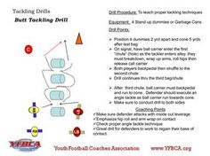 Butt Tackle Drill