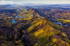Iceland Highlands from Above